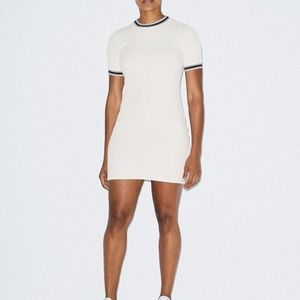 American Apparel Thick Rib Crewneck Dress